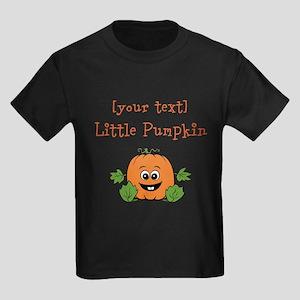 [Personalize] Little Pumpkin Kids Dark T-Shirt